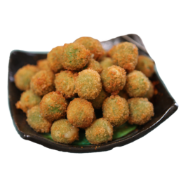 Fried Green Olives