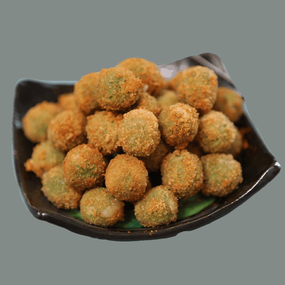 Fried Green Olives