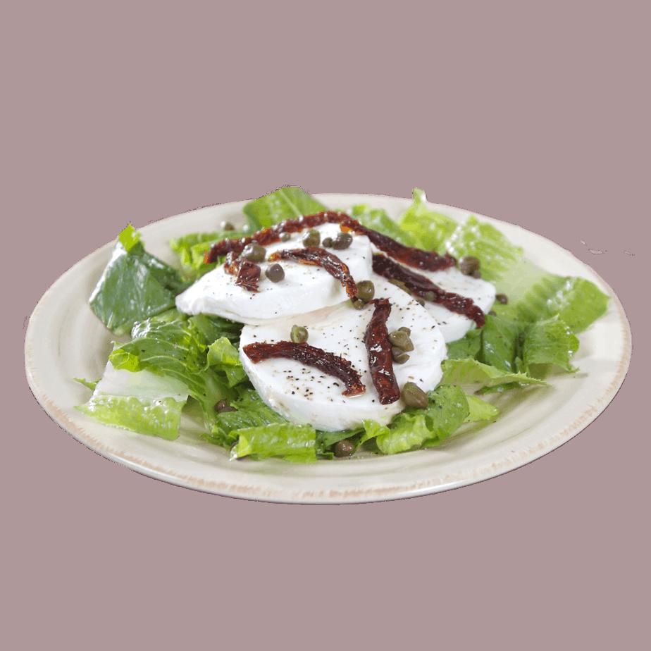 Mozzarella Salad with Sun Dried Tomatoes